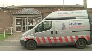 Southern Gas Networks van on a call out