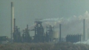 Corby became home to the largest steelworks in the land.