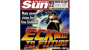 The Scottish Sun frontpage.