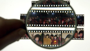 The collection contains previously unpublished colour transparencies of The Beatles.