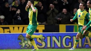 Robert Snodgrass celebrates scoring against West Ham United earlier this month.