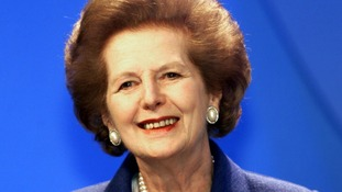 File photo of Margaret Thatcher