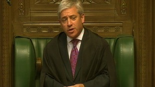 Bercow: MPs expenses were 'displacement activity'