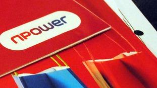 The npower logo.