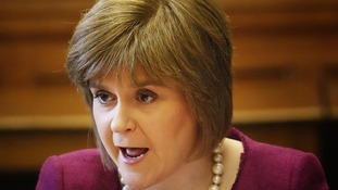 Scottish Health Secretary Nicola Sturgeon