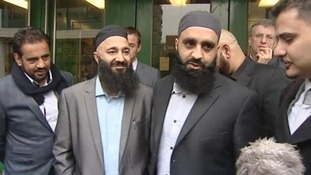 ayyab Subhani and Mohammed Safdar left Chelmsford Crown Court as free men.