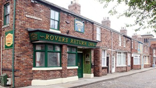 The Coronation Street set has been painstakingly recreated, brick by brick.
