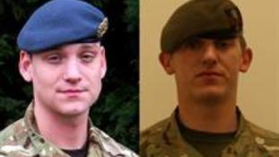 Corporal Brent John McCarthy and Lance Corporal Lee Thomas Davies