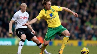 Luciano Becchio makes his home debut against Fulham in February.