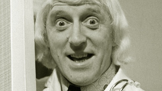 File photograph of Jimmy Savile.