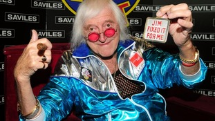 Jimmy Savile pictured in 2009.