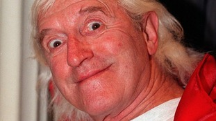 Disgraced TV presenter Jimmy Savile pictured in February 1999.
