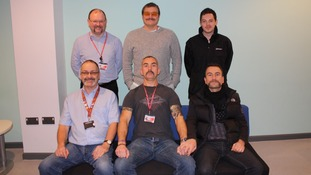 Staff at the College of West Anglia raised around £300 for 'Movember'.