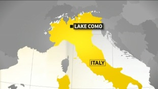 Lake Como, Italy, Glenys Turner could have been found