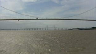 River Severn (both bridges shot)
