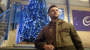 Froch at the National Ice Centre today