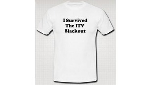 One ITV viewer used the downtime to create this souvenir T shirt