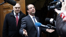 Francois Hollande beat Nicolas Sarkozy in the French elections.