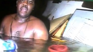 Harrison Okene survived in an air pocket inside a capsized tug for three days