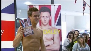 Tom Daley: 'a gay role model' after coming out