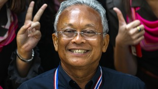 Protest leader and former deputy prime minister Suthep Thaugsuban says his campaign to oust the government is 'not over'