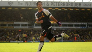 Liverpool's Luis Suarez has enjoyed playing against Norwich City over the past two seasons.
