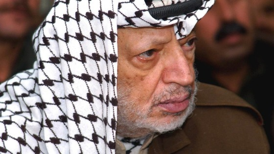 Yasser Arafat in 2004.
