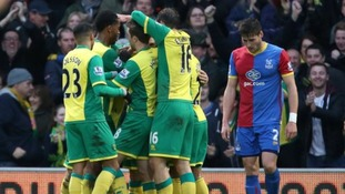 Gary Hooper's winner against Crystal Palace won the Canaries all three points.