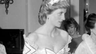 Diana  arriving at the Royal Opera House for the Royal Charity Premiere of 'Ivan the Terrible' by the Bolshoi Ballet