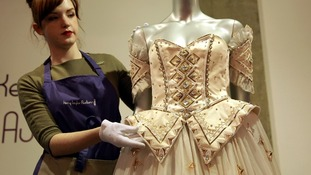 Diana dress sells for more than £100,000 at auction