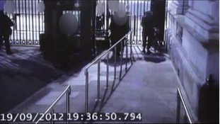 CCTV of the incident at the Downing Street gates did not prove either version of events