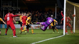 Luke Berry fires the U's into the second round.