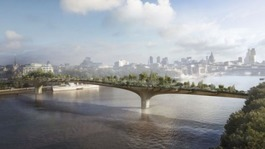 Government pledge of £30m for Thames garden bridge