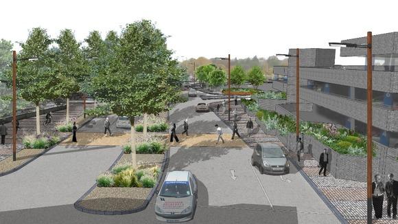 plans for peterborough boulevard revealed anglia itv news. Black Bedroom Furniture Sets. Home Design Ideas