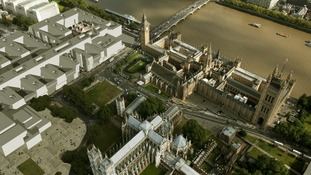 The scheme also proposed the creation of a new riverside square to the left of Big Ben