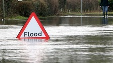 Flood warning for Kent