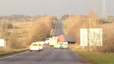 Lorry driver dies as strong winds hit UK: Latest updates