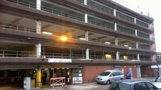Lucy Tower Car Park Lincoln Charges