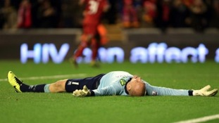 It was a night to forget for Norwich City goalkeeper John Ruddy.