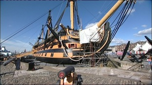 HMS Victory to receive £50m