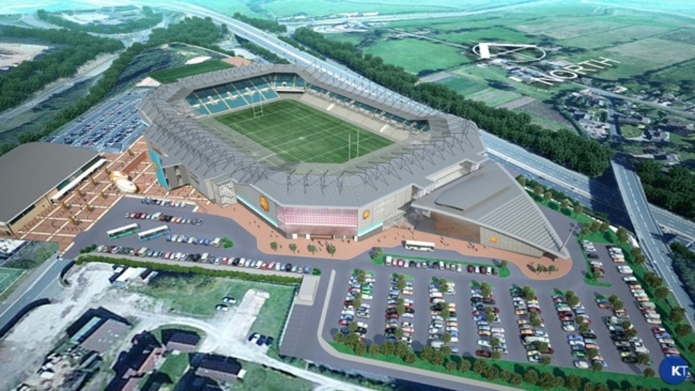 Phase One works to begin at Sandy Park | West Country ...