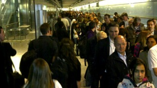 Passengers have been experiencing long queues at Heathrow Airport.
