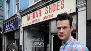 Nick Letchford at Jaguar Shoes