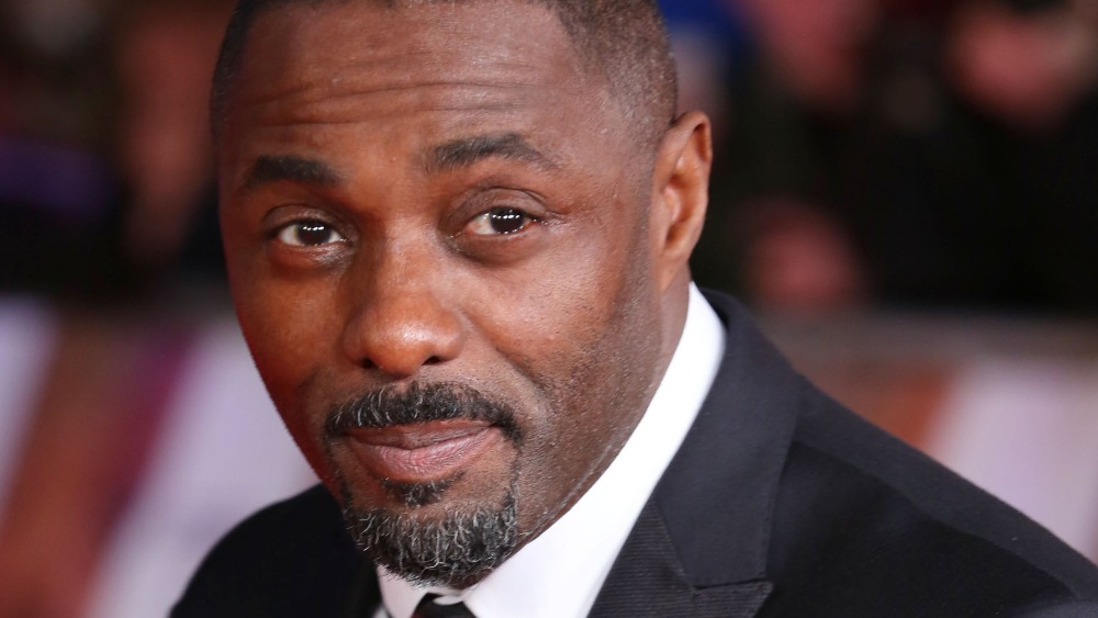 idris elba arrives at premiere of nelson mandela film itv news. Black Bedroom Furniture Sets. Home Design Ideas