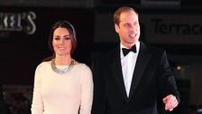 William and Kate attend Mandela film premiere
