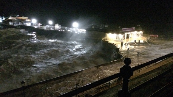 cromer pier closed in the interest of public safety