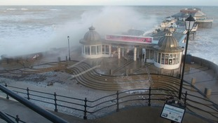 Cromer Pier takes another hit.