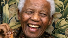 People across the region pay tribute to Nelson Mandela