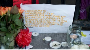A message reads 'Freedom is indivisible'.