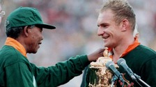 Springboks: Mandela had 'massive impact on rugby'